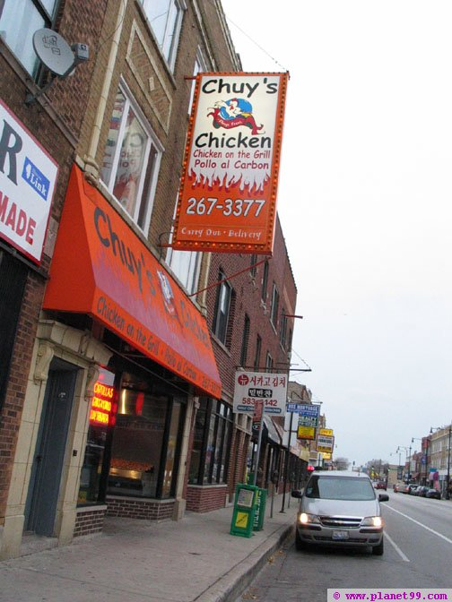 Chuy's Chicken , Chicago