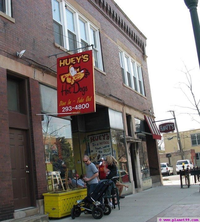 Huey's Hotdogs , Chicago
