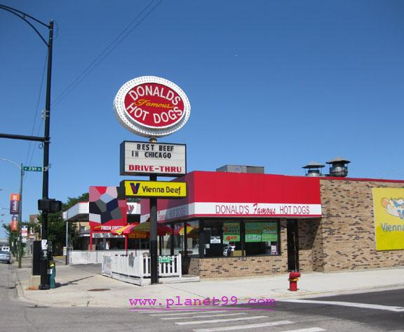 Donald's Famous Hot Dogs , Chicago