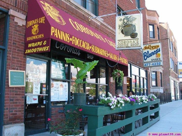 Corona's Coffe Shop , Chicago