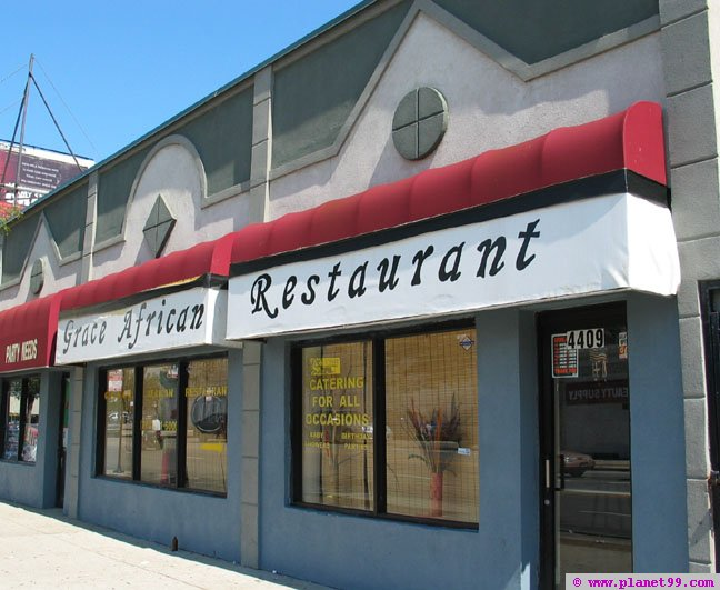 Grace African Restaurant , Chicago