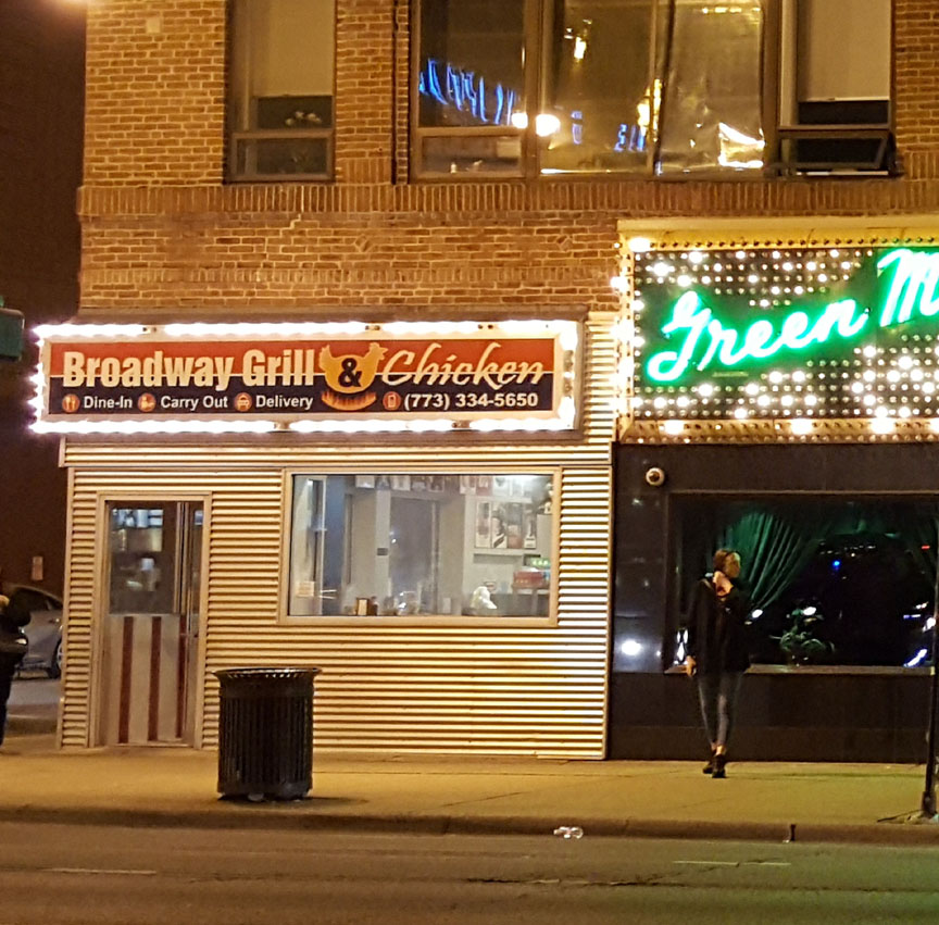 Broadway Grill and Pizza , Chicago