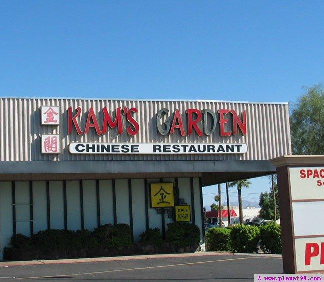 Kam's Garden Restaurant , Scottsdale
