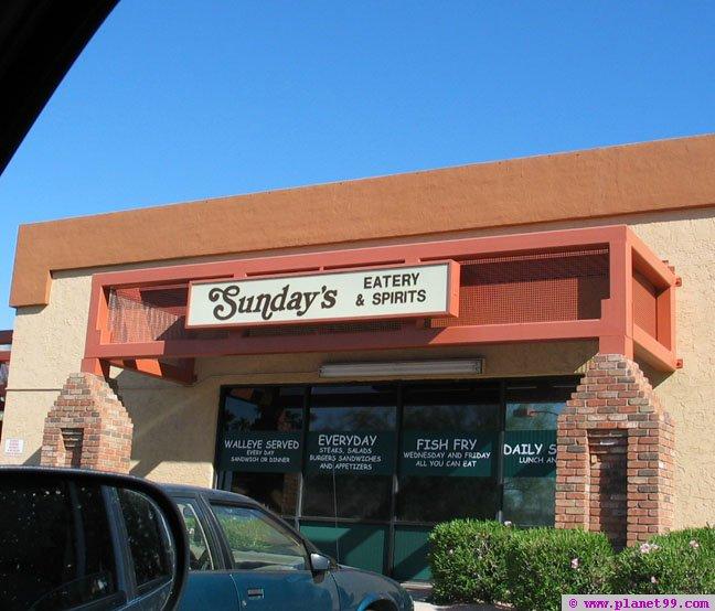Sunday's Lounge , Scottsdale