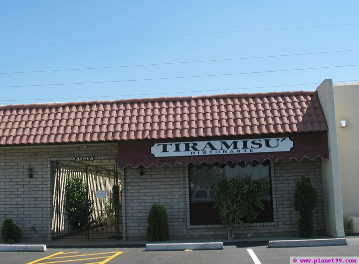 Tiramisu , Scottsdale
