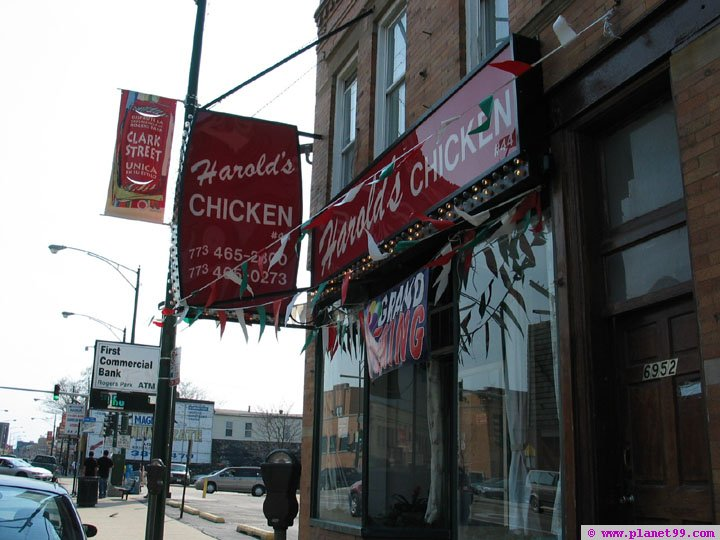 Harold's Chicken Shack #44 , Chicago