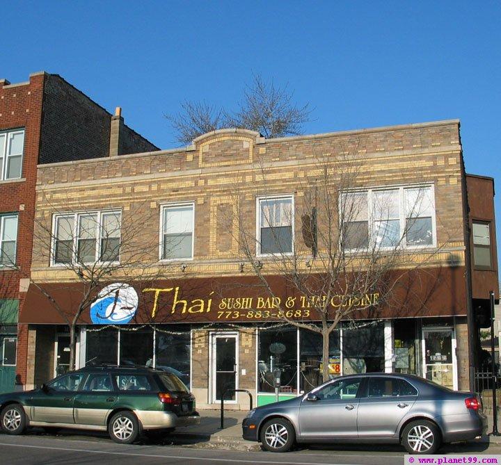 J-Thai Sushi Bar and Thai Cuisine , Chicago