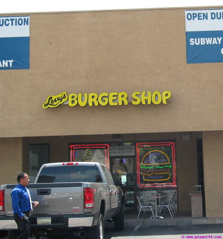 Lenny's Burger Shop , Phoenix