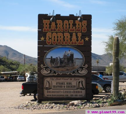 Harold's Cave Creek Corral , Cave Creek