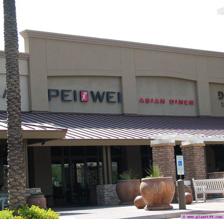 Pei Wei , Scottsdale