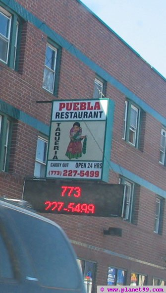 Puebla Restaurant , Chicago