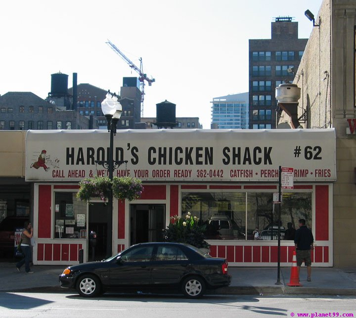 Harold's Chicken Shack #62 , Chicago