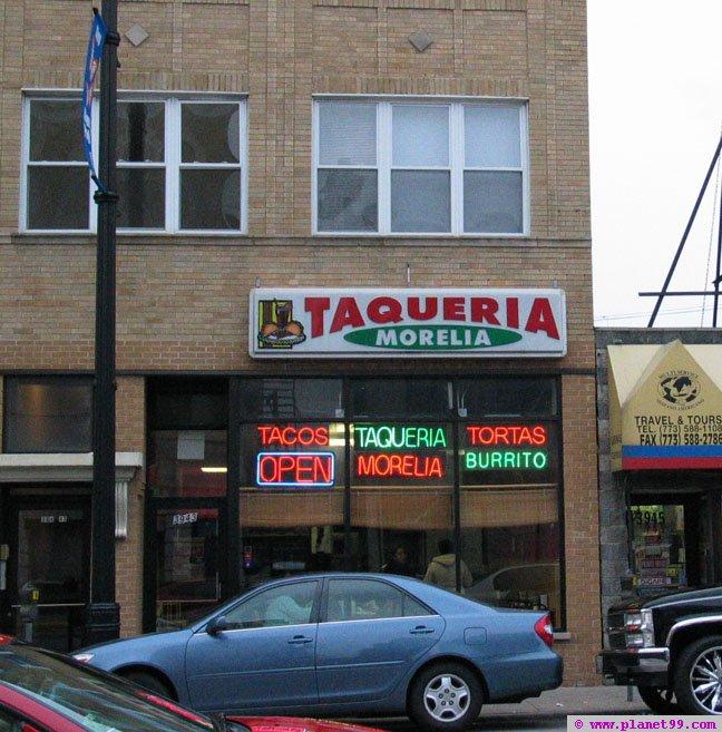 Taqueria Morelia , Chicago