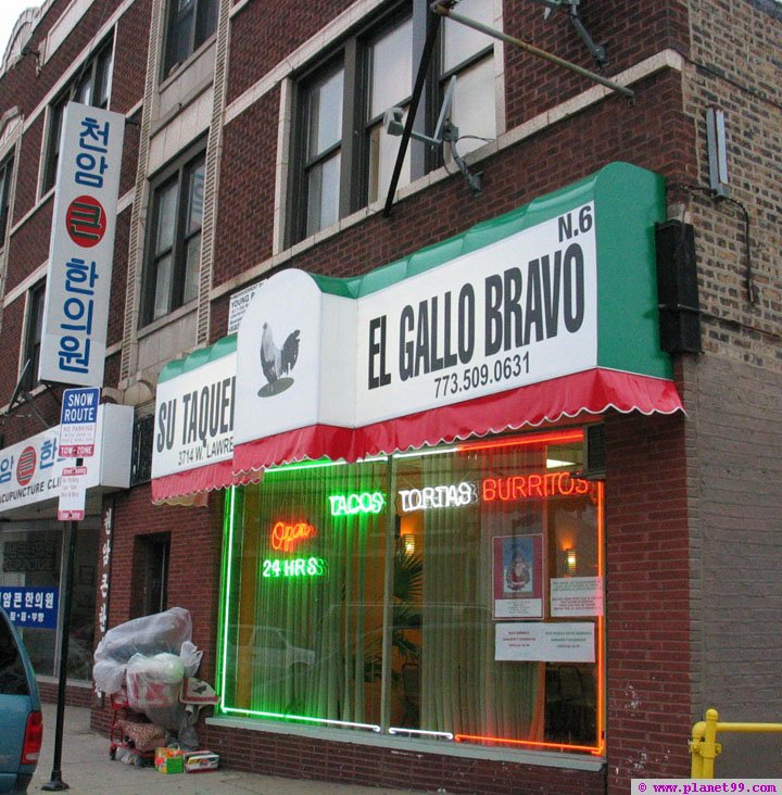 Taqueria El Gallo Bravo , Chicago