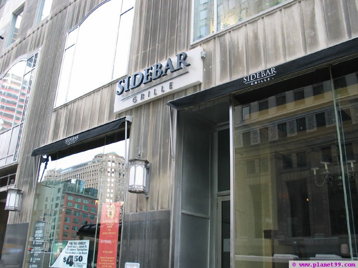 Sidebar Bar and Grille , Chicago
