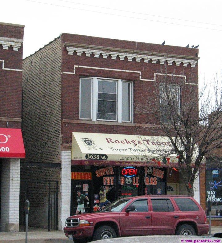 Rocky's Taco's , Chicago