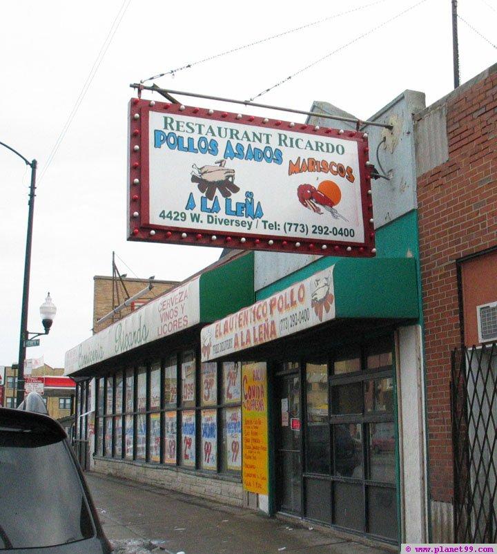 Restaurant Ricardo , Chicago