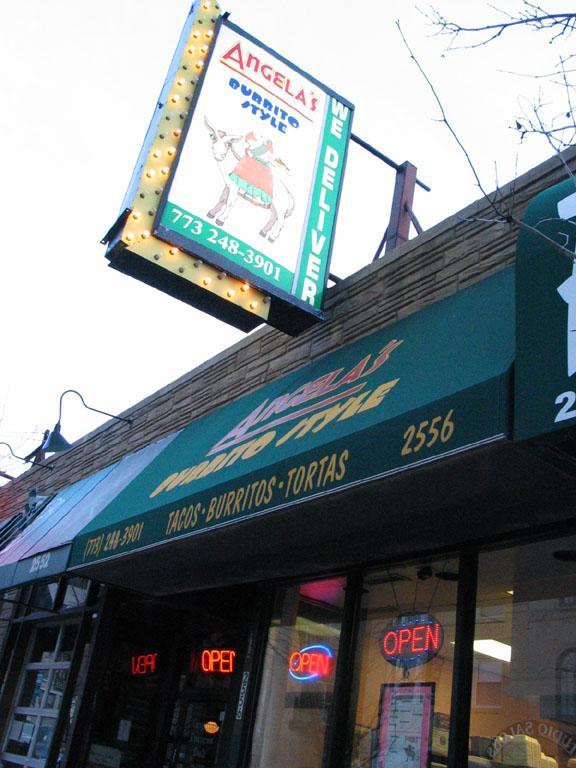 Angela's Burrito Style , Chicago