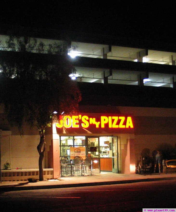Joe's NY Pizza , Scottsdale