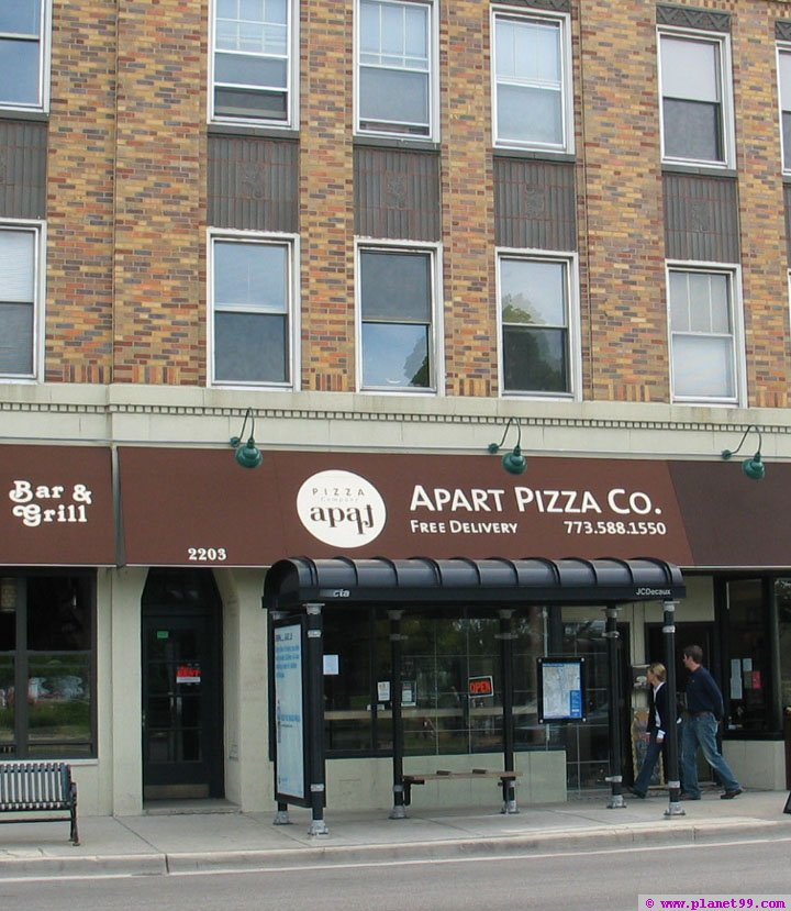 Apart Pizza Company , Chicago