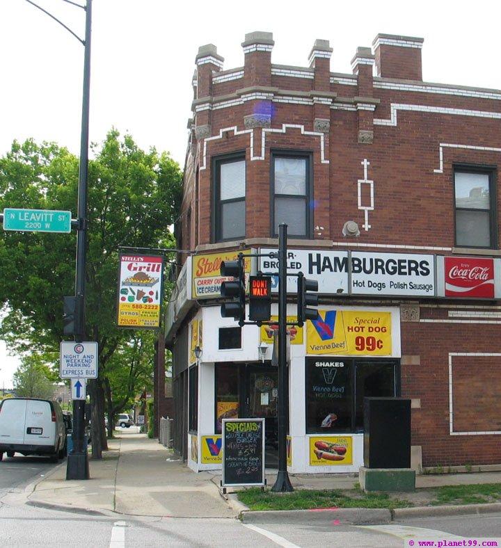 Stella's Grill , Chicago
