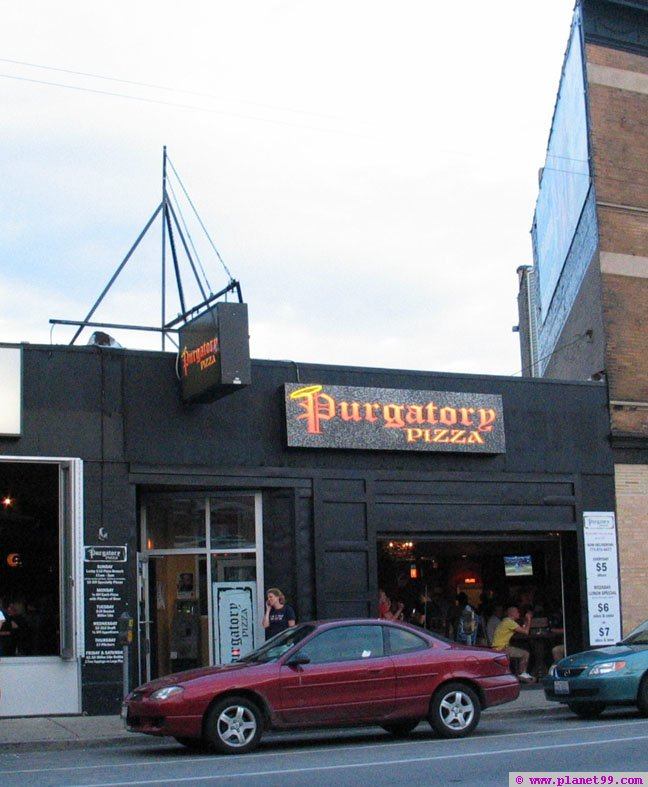 Purgatory Pizza , Chicago