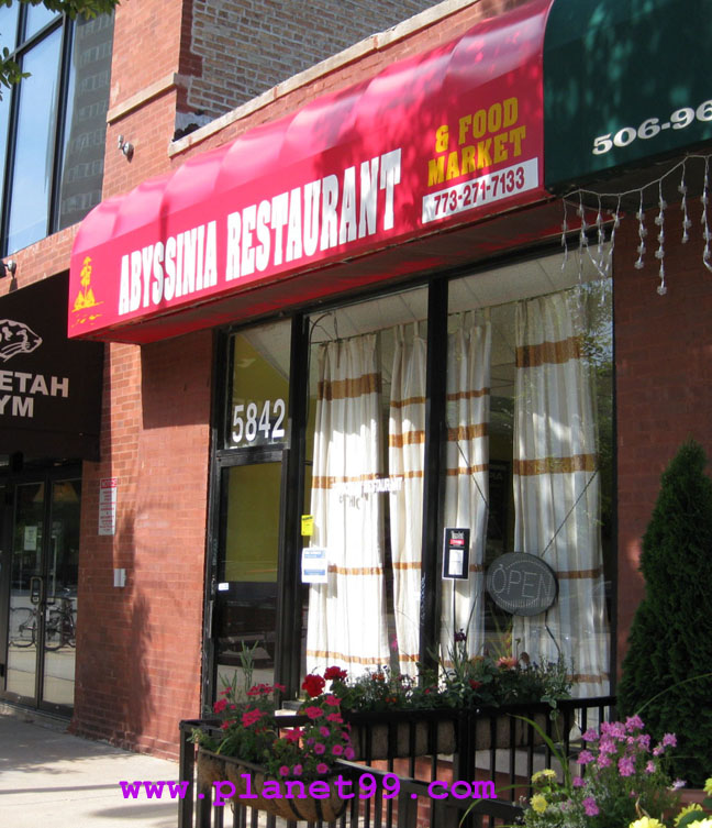 Abyssinia Restaurant , Chicago
