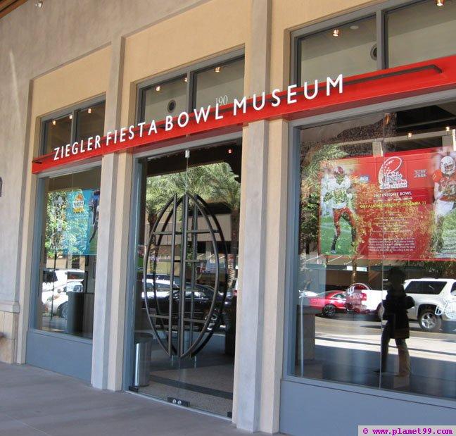 Ziegler Fiesta Bowl Museum , Scottsdale