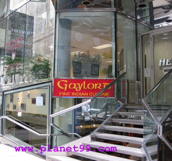 Gaylord Fine Indian Cuisine , Chicago