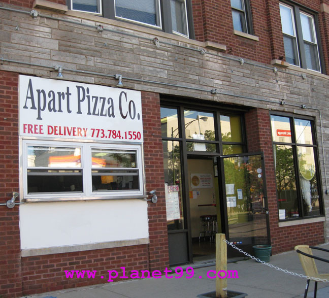 Apart Pizza Company Uptown , Chicago