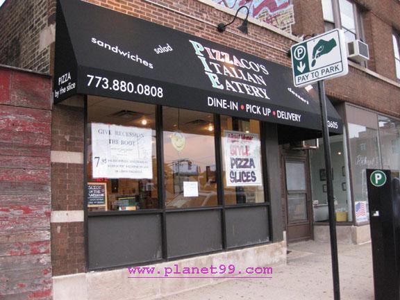 Pizzaco's Italian Eatery , Chicago