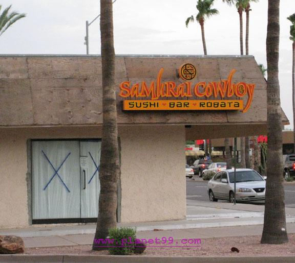 Samuri Cowboy  , Scottsdale