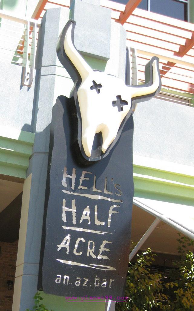 Hell's Half Acre  , Glendale
