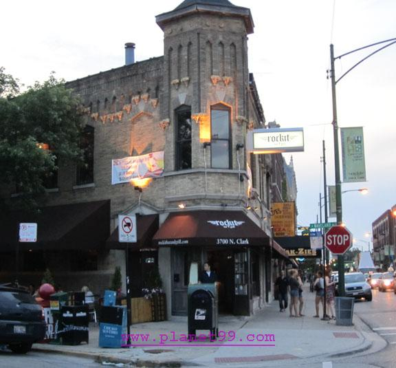 Rockit Bar and Grill on Clark , Chicago