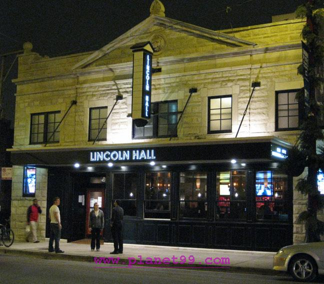 Lincoln Hall , Chicago