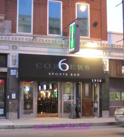 6 Corners Sports Bar , Chicago