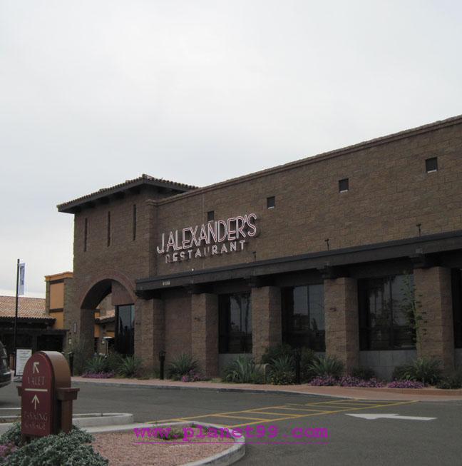 J Alexander's , Scottsdale