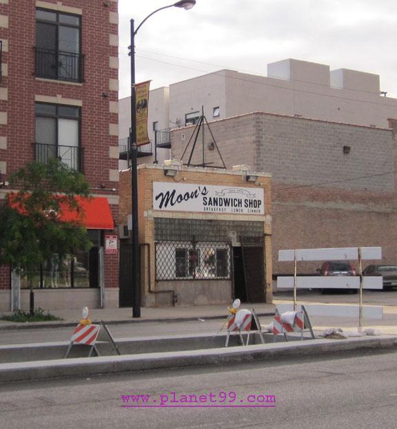 Moon's Sandwich Shop , Chicago