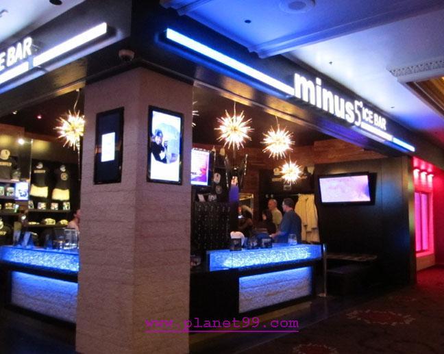 Minus 5 Ice Bar , Las Vegas