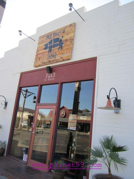 Big Earl's BBQ , Scottsdale
