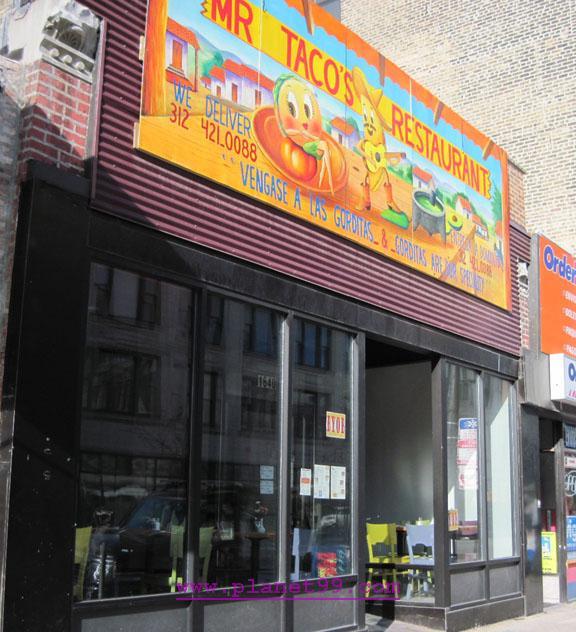 Mr. Tacos Restaurant , Chicago