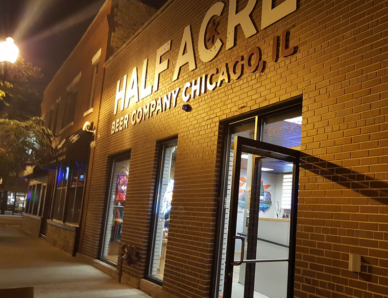 Half Acre Brewery , Chicago