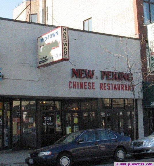 New Peking Restaurant , Chicago