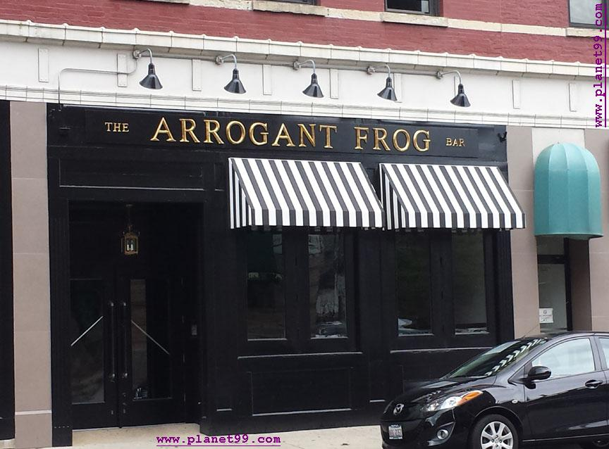 Arrogant Frog , Chicago