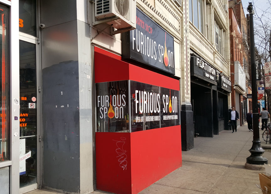 Furious Spoon , Chicago