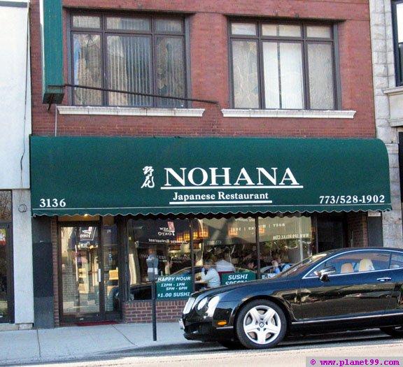 Nohana Restaurant  , Chicago