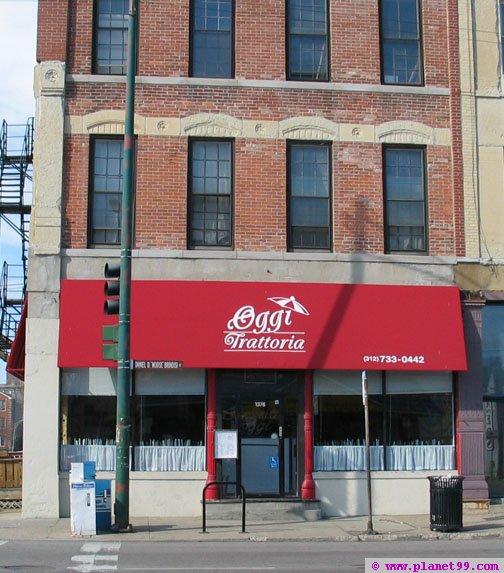 Chicago , Oggi Trattoria E Cafe