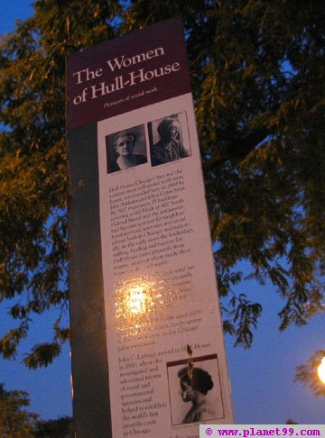 Jane Addams Hull House , Chicago