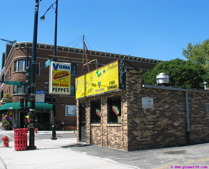 Peppes Hot Dogs , Chicago