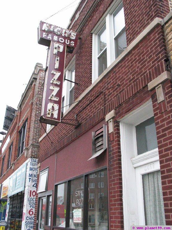 Sano's Pizzeria , Chicago